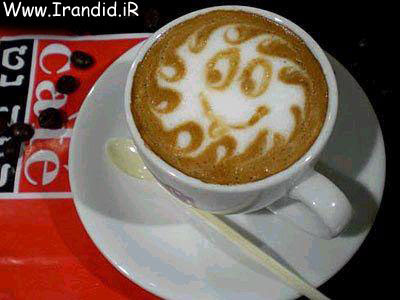 نقاشی های جالب در داخل فنجان!!!!  http://www.irandid.ir