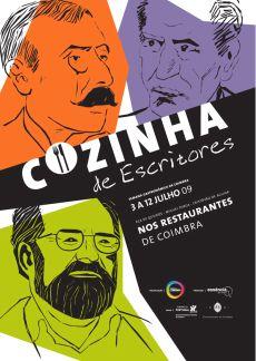 Cozinha de escritores: Turismo Coimbra de 3 a 12 de Julho de  2009