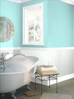 All things sea glass design a bathroom with a seaside for Jamaican bathroom designs