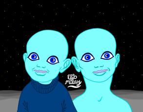 Niños Selenitas (Elio Milay)