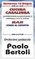13 giugno ore 21 orchestra spettacolo Paolo BERTOLI