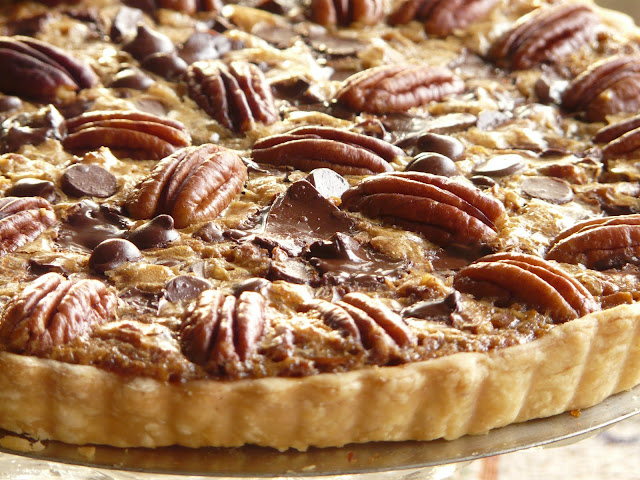 ... Table: Saturday Blog Showcase - Double Chocolate Pecan Pie/Tart