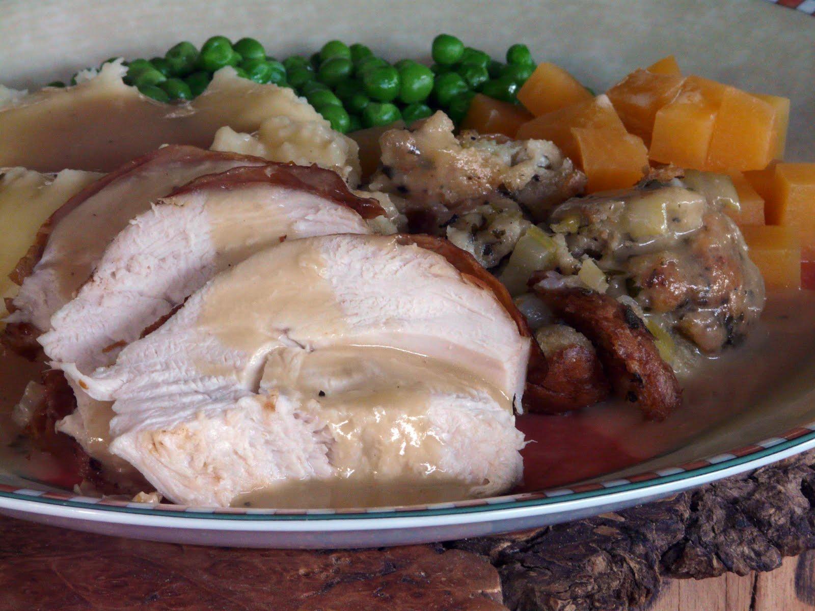 Thibeault's Table: Roast Turkey Dinner