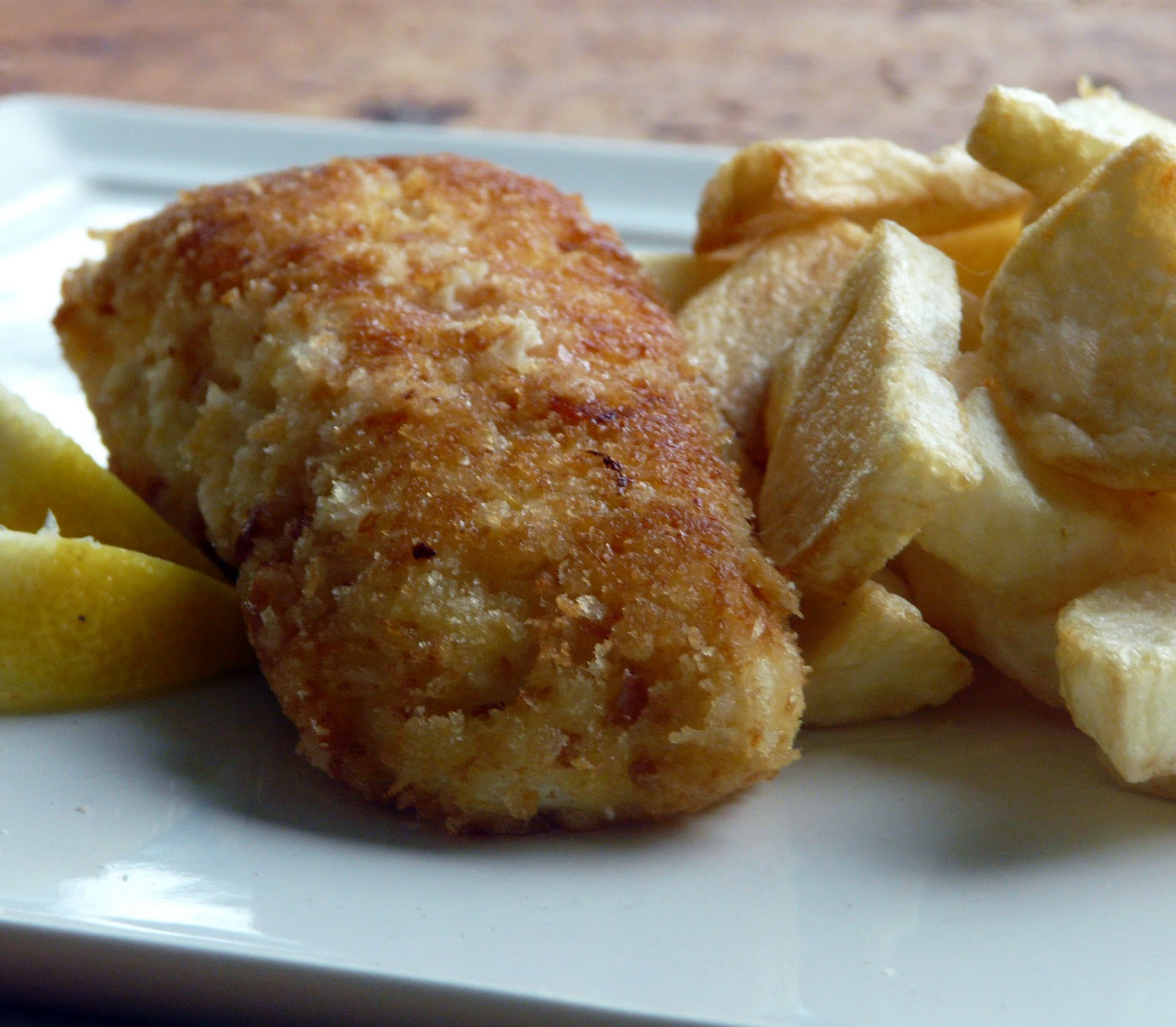 Parmesan-Panko Crusted Halibut Recipes — Dishmaps