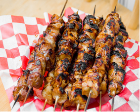 Filipino BBQ Pork Skewers: Philippines