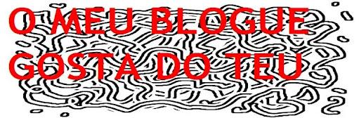 O meu blogue gosta do teu