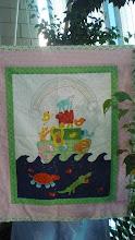 """""""Noah's ark"""" baby quilt"""