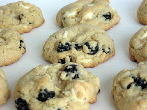 ... Blueberry White Chocolate Cookies A RePost they are that good..perfect