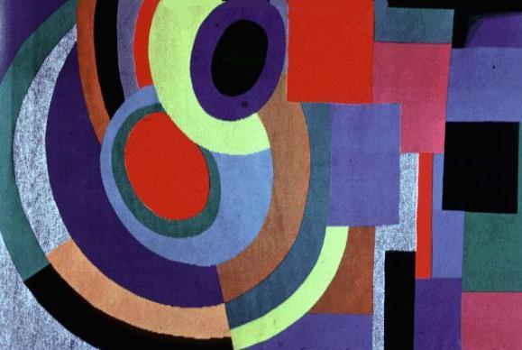 Encuentros con el arte: SONIA DELAUNAY. Reina del Art-Deco.