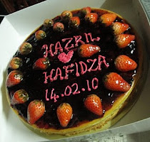 Cheese Cake for Hantaran