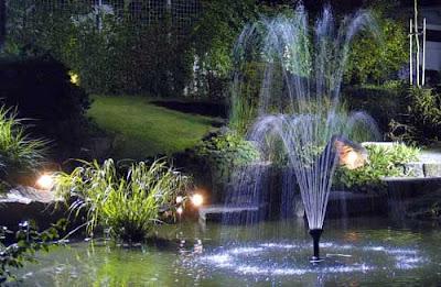 naturaleza verde del legolas jardines On iluminacion para estanques de jardin