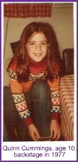 Quinn at age 10 in 1977