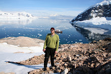 Levi in Antarctica