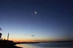 Conjuncion Luna-Venus-Jupiter