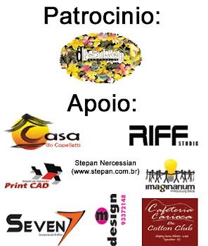 Patrocinadores & Apoiadores do CURTA COPA III