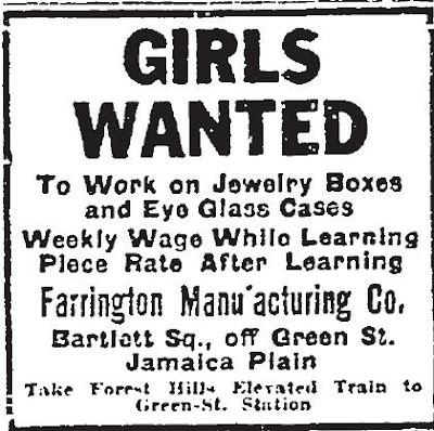 Remember Jamaica Plain Farrington Manufacturing