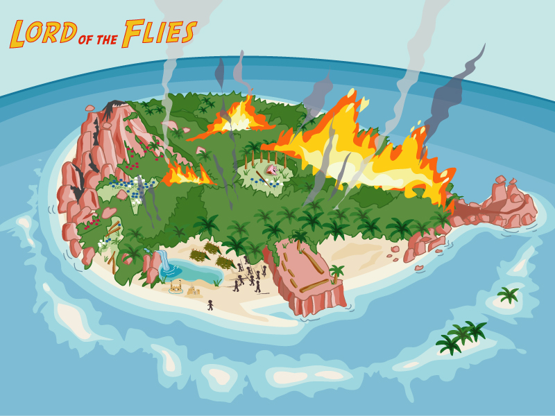 plot of lord of the flies The lord of the flies is a provocative novel about a group of boys who are marooned alone on an uninhabited island  plot & themes tone of book.
