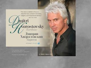 Dmitri Hvorostovsky's official web site snapshot