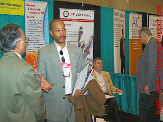 SIP Booth at the it360 Show, April 2008