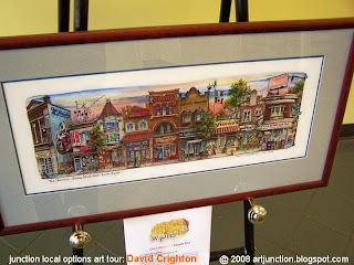 Toronto Junction City Centennial Event: Local Option Art Awards, Artist: David Crighton; photo by artjunction.blogspot.com