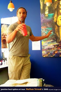 Junction Local Option: Artist Nathan Stroud presented his work 'The Dream in High Park'