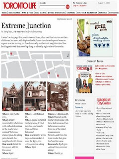 Toronto Life Extreme Junction Real Estate