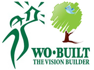 Collage: Wo-built Green and Eco Tweets