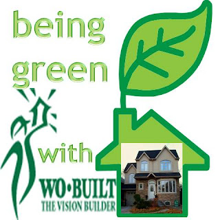 Collage: Being Green with Wo-Built Inc. Construction and Renovation Company in Toronto, Ontario, Canada
