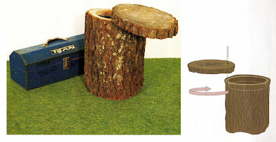 how to make a stump seat