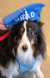 Grace with Graduation Cap
