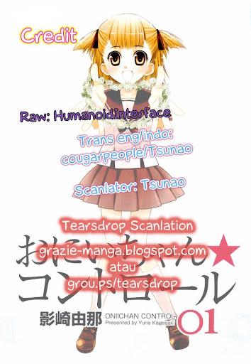 Manga Oniichan Control Page 1...
