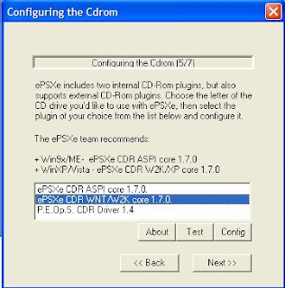 seting emulator ps1 di pc