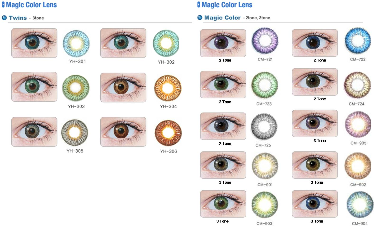 lentillas de colores - Lentilles Colores