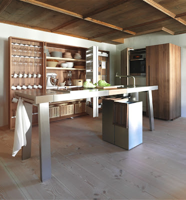 The modern courtier bulthaup b2 kitchen for Bulthaup b2 kitchen