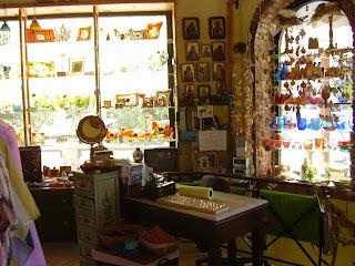 Souvenir shop in Tsilivi