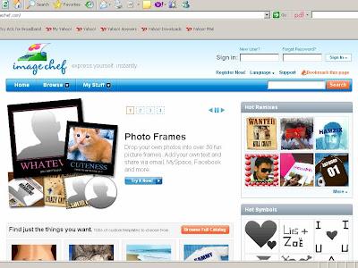 """Manafaat Blog: Inginkan photo dengan """"frame-frame"""" yang menarik?"""