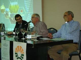 Roberto, Nacho y Trini de Cajamar