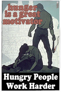 Hunger as a Motivator; Exploitation as a Motive