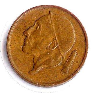 Ancient coin Belgique Старинная монета Бельгии 50 centimes 1989 altertümliche Münze Königreich Belgien moneda antigua el Reino Bélgica moneda de la Bélgica