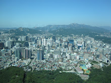 Downtown Seoul from Seoul Tower