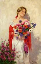 En mis dias siguientes corte las flores de mi jardin... en las brisas de la tarde aun te espero....