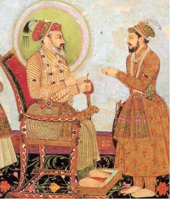 Shah Jahan with Dara