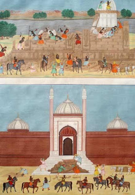 Demolition of Mathura temple