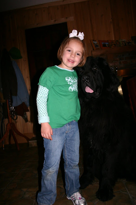 Lacey Anne with Yogi