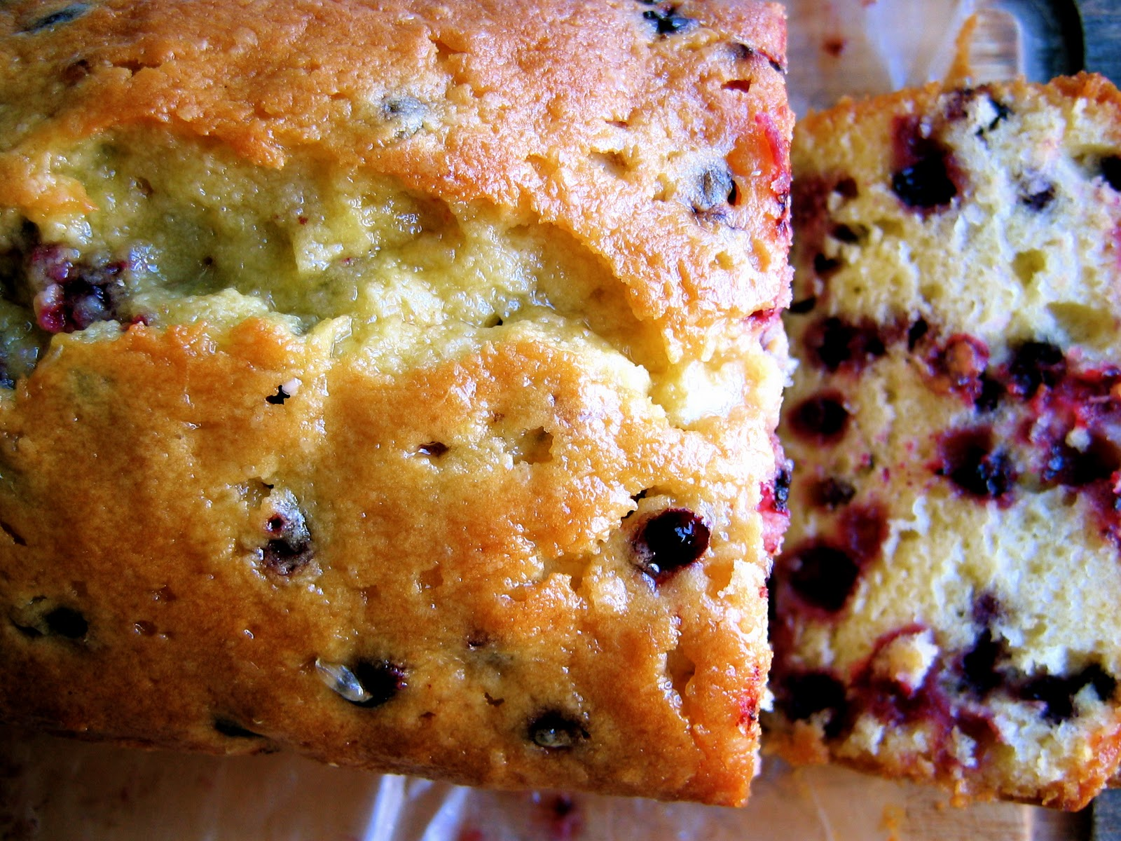 The Bojon Gourmet: Lemon Huckleberry Tea Cake