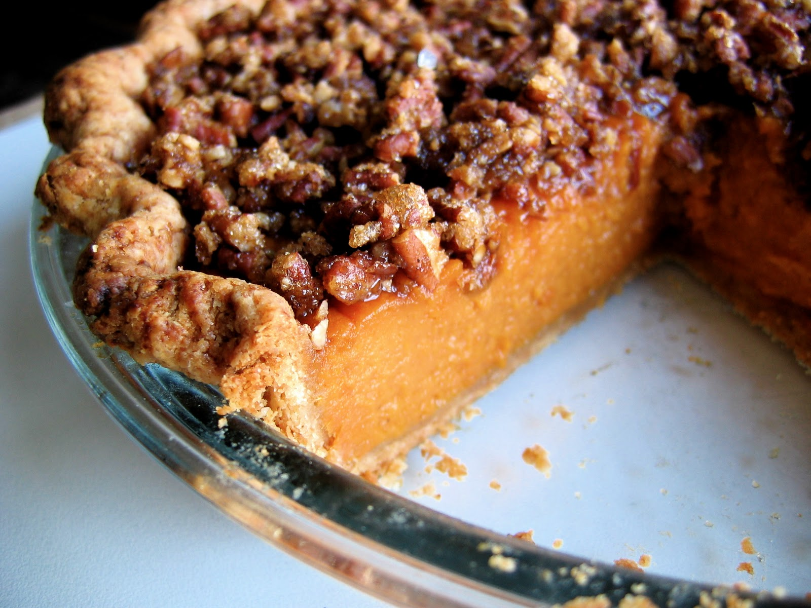 pecan pie sweet potato pie with pecan streusel pecan and sweet potato ...