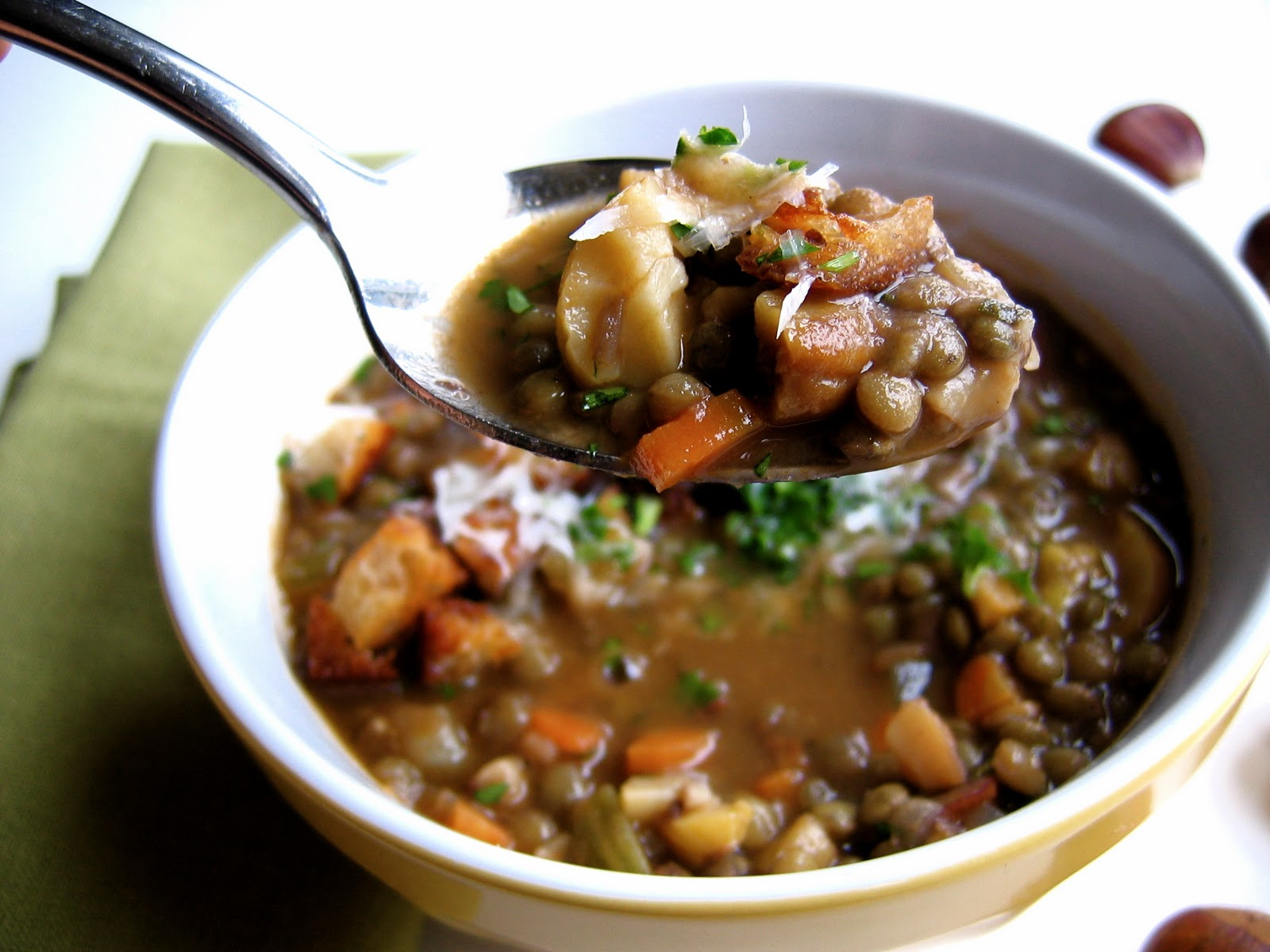 Lentil Soup with Chestnuts and Fennel • The Bojon Gourmet