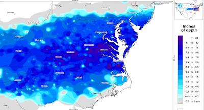 >Texas/Oklahoma to Maryland/Delaware Winter Storm History: Jan 28-30th.