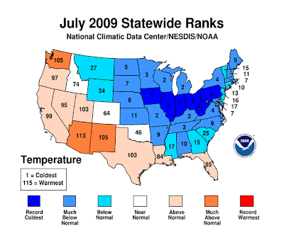 >Was July's Cold Significant?