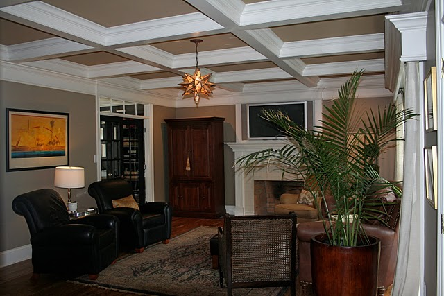Design dump dressing up low ceilings for Living room with 9 foot ceilings